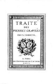Traité Des Pierres Gravées: Volume1