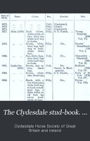 The Clydesdale Stud book      PDF