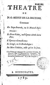 Théâtre de Rétif de la Bretonne