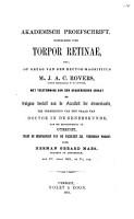 Over torpor retinae PDF