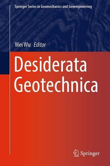 Desiderata Geotechnica PDF