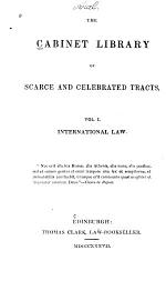 The Cabinet Library of Scarce and Celebrated Tracts