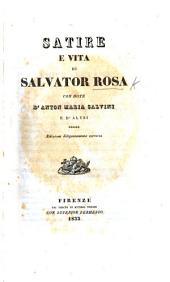 Satire di Salvator Rosa. Ristampate a spese di G. Balcetti