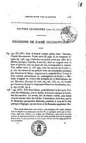 Religions de l'antiquite, considerees principalement dans leurs formes symboliques et mythologiques ouvrage traduit de l'allemand du Frederic Creuzer: Explications des planches. 4.1, Volume4