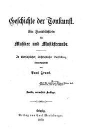 Geschichte der Tonkunst...