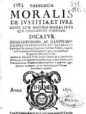 Theologia moralis de iusticia et iure: simul cum materiis moralibus quae concernunt iustitiam ...