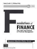 Study Guide Foundations of Finance  Keown  Martin  Petty  Scott PDF