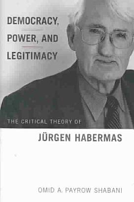 Democracy  Power and Legitimacy