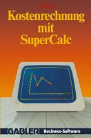 Kostenrechnung mit SuperCalc PDF