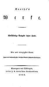 Goethe's Werke: Bände 41-42