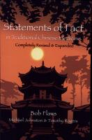 Statements of Fact in Traditional Chinese Medicine PDF