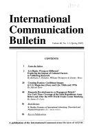 International Communication Bulletin PDF