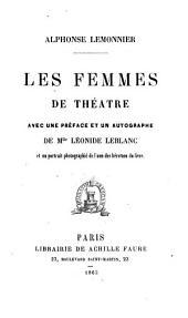 Les femmes de théâtre