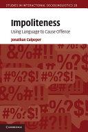 Impoliteness
