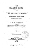 The Spanish lady  and the Norman knight PDF