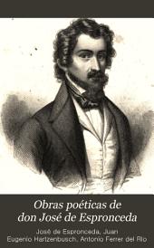 Obras poeticas de don José de Espronceda