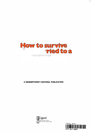 How to Survive Being Married to a Catholic PDF