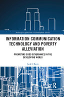 Information Communication Technology and Poverty Alleviation PDF