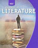 Holt Elements of Literature PDF