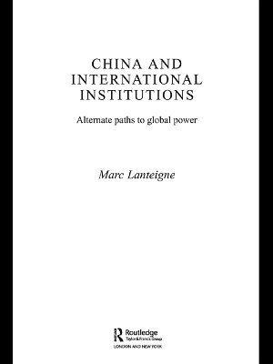 China and International Institutions PDF