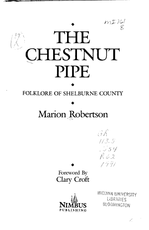The Chestnut Pipe