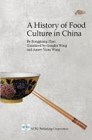 A History of Food Culture in China PDF