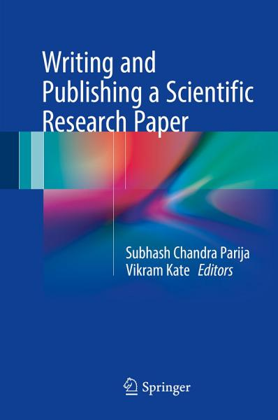 Writing and Publishing a Scientific Research Paper PDF