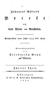 Johannes von Müller sämmtliche Werke: Band 14