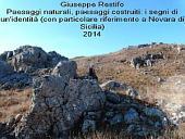Paesaggi naturali, paesaggi costruiti: i segni di un'identità (con particolare riferimento a novara di sicilia)
