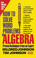 How to Solve Word Problems in Algebra  2nd Edition PDF