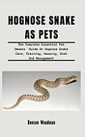 Hognose Snake as Pets PDF