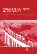 Dynamics of High-Speed Railway Bridges