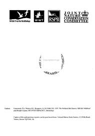 The Wetland Bird Survey  1995 96 PDF