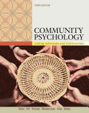 Community Psychology  Linking Individuals and Communities PDF