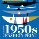 1950s Fashion Print