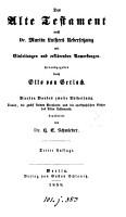 Die heilige Schrift  nach M  Luthers Uebers   mit Einleitungen und erkl  renden Anmerkungen  herausg  durch O  von Gerlach PDF