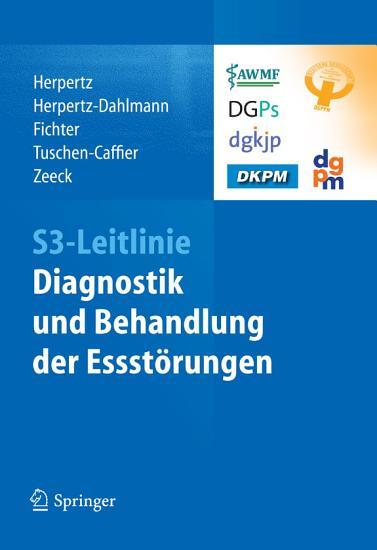 S3 Leitlinie Diagnostik und Behandlung der Essst  rungen PDF