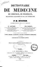 Dictionnaire de médecine, de chirurgie, de pharmacie, des sciencies accessoires et de l'art vétérinaire: Volume1