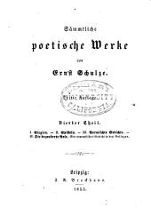 th. Elegien; Episteln; Vermischte gedichte; Die bezauberte rose