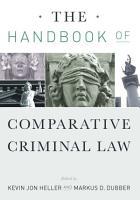 The Handbook of Comparative Criminal Law PDF