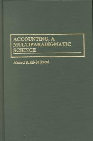 Accounting  a Multiparadigmatic Science PDF
