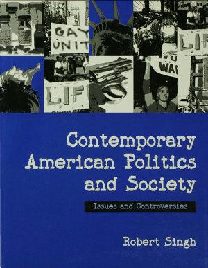 Contemporary American Politics and Society PDF