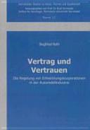Vertrag und Vertrauen PDF