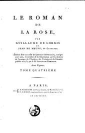 Le roman de la rose: Volume4