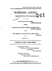Supreme Court Appellate Division First Department