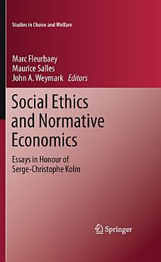 Social Ethics and Normative Economics PDF