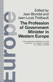 Profession of Government Minister in Western Europe