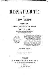 Bonaparte et son temps, 1769-1799: Volume 3