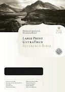 Bible Holman CSB Ultrathin Large Print Reference PDF