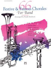 66 Festive and Famous Chorales for Band for 1st E-flat Alto Saxophone